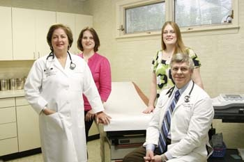 Drs. Parks and Warth and Staff