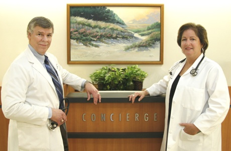 Dr. Warth and Dr. Parks: Concierge internal medicine physicians
