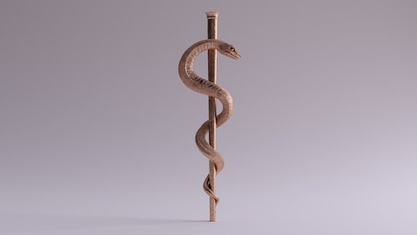 Rod of Asclepius: The True, Original Symbol of Medicine